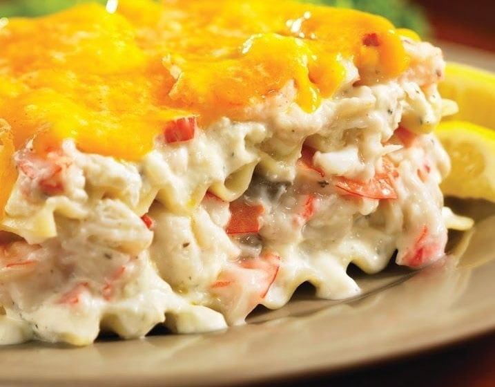 The Best Seafood Lasagna