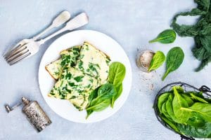 Easy Egg and Spinach Casserole