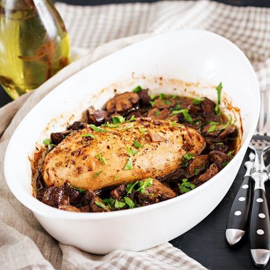 Mushroom Chicken Marsala