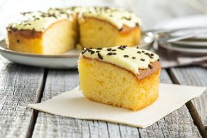 Lemon Vanilla Shortcut Cake