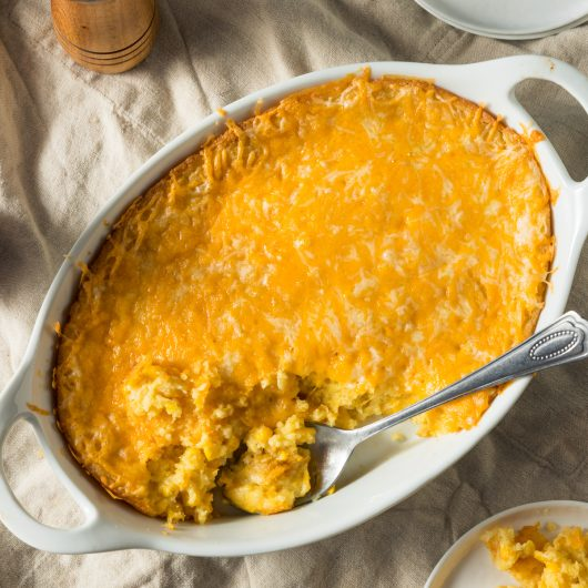 Two Cheese Corn Pudding