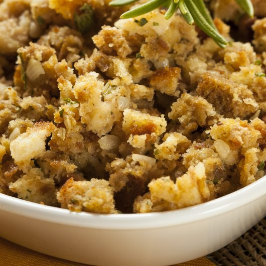 Simple Homemade Stuffing