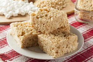 Peanut Butter Crispy Rice Bars