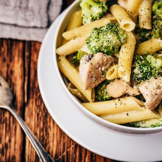 Creamy Broccoli Chicken Penne