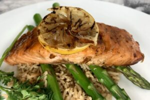 Honey Glazed Salmon