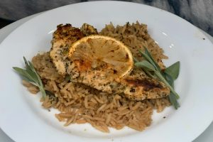 One-Pot Lemon Herb Chicken and Rice