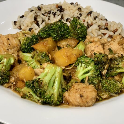 Pineapple Chicken and Broccoli