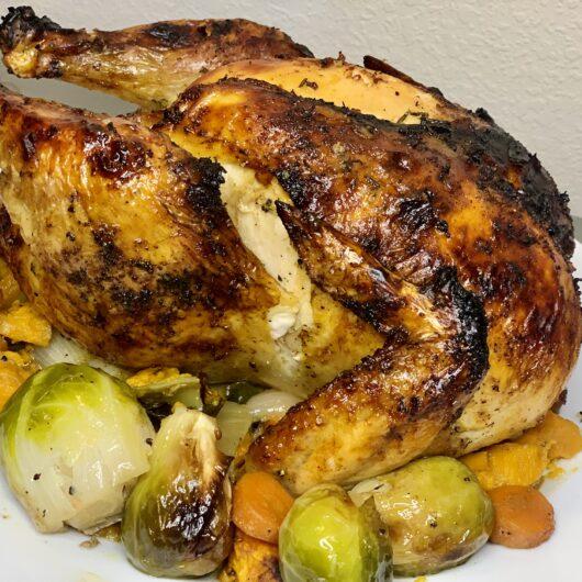 The Juiciest Roast Chicken